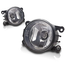 06-12 Eclipse 07-12 Outlander Replacement Fog Lamps Pair - Clear