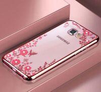 Glitter Case for Samsung Galaxy A5 A7 2018 2016 2017 J5 S9 S10 Plus Cover J4 J6