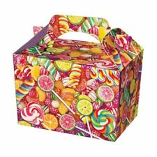 20 Candy Boxes  - Food Loot Lunch Cardboard Gift Childrens Kids Sweet Lollipop