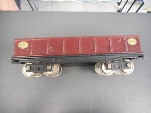 Lionel Prewar #212 Maroon Gondola Car