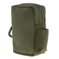 Mini Outdoor Camping Molle Belt Pouch Bag Utility Gadget Pouch, Army Green