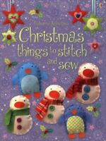 Christmas Things to Stitch and Sew (Usborne Activities) By Fion .9780746086889