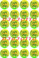 Mini cialde ostie per cupcakes 18 ANNI, cupcake, 18°, diciottesimo, compleanno