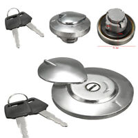 Aluminum Alloy Shell Motorcycle Replaces Gas Fuel Tank Cap Cover+Key For YAMAHA