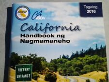 TAGALOG 2016 California DMV Drivers Handbook TO YOUR DOOR FOR ONLY $ 4.75
