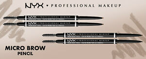 NYX Professional Makeup Micro Brow Pencil - All 8 SHADES BRAND NEW FREE DELIVERY