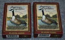 WILDLIFE CANADA GOOSE 2 DECKS STANDARD PLAYING CARDS