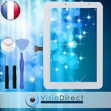 "Vitre ecran tactile pour Samsung Galaxy Tab 2 7.0"" P3110 blanc + adhésif +outils"