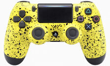 """3D Yellow"" Ps4 Custom UN-MODDED Controller Exclusive Unique Design CUH-ZCT2"