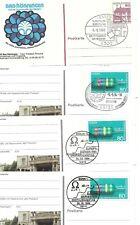 11 postal items (spec.postmarks etc.) topic: PHYSICS / SCIENCE (ca. 1968-2004)