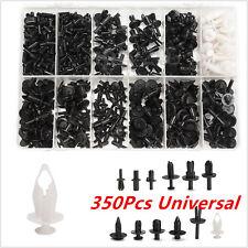 Plastic 350Pcs 12Sizes Car Automotive Push Pin Rivet Body Trim Clip Panel W/ Box