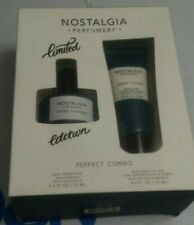 Men's Nostalgia Perfumery GONE FISHING Eau De Cologne .5oz Limited Edition COMBO