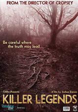Killer Legends, Good DVD, Joshua Zeman, Rachel Mills, Joshua Zeman
