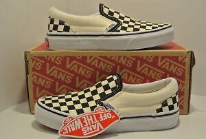 Vans Classic Slip on Size Selectable New & Orig Pack VNOOOZBUE011