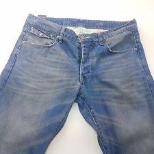 G-Star Raw MORRIS LOW Mens Jeans W33 L33 Blue Regular Fit Straight Low Rise