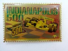 1996 Indianapolis 500 Collector Event Stamp Lapel Pin Indy 500 IndyCar