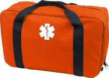 Orange Ems Trauma Bag Emt First Aid Medical Rescue Response Bag
