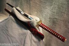 Japanese T10 Differential Hardened Kiriha Zukuri Chokuto Ninjato Ninja Sword
