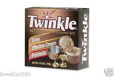 TWINKLE COPPER BRASS CLEANER POLISH ANTI TARNISH  4.4 oz NEW
