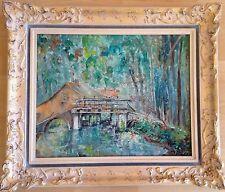 Pierre Boffin 1907 - 1992 - Moulin bei Ermenonville - sign. u. dat. (19)73