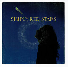 "SIMPLY RED Disque Vinyle 45 tours SP 7"" STARS .. Mix - EW 75801 RARE punki64"