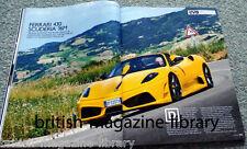 Evo Magazine Issue 133 - Ferrari F430 Scuderia 16M - Bugatti Veyron Grand Sport