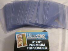 (25) ULTRA-PRO PREMIUM TOPLOADER TRADING CARD HOLDERS LOOSE