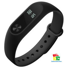 BLACK Mi Band 2 OLED Display Pulsmesser Fitness Aktivitätstracker Neu