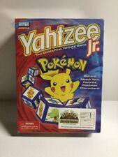 2004 Pokemon Yahtzee Jr Milton Bradley Nintendo Pikachu Board Game Complete