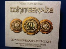 WHITESNAKE.        THREE DISC. TOUR. EDITION.       THIRTIETH. ANNIVERSARY. SET