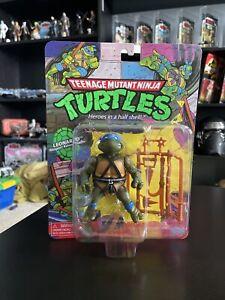 TMNT Retro Leonardo Teenage Mutant Ninja Turtle Playmates Action Figure