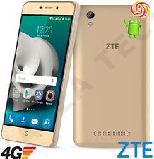 """Lollipop e A452 5"""" IPS Dorado desbloqueado teléfono celular 4G LTE Android 5.1 Teléfono Inteligente"""