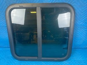 "RV Travel Trailer Camper Sliding Window w/ Screen & Frame 24"" X 22"""