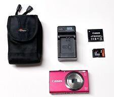 Canon PowerShot A2300 HD 16MP Digital Camera 5x Zoom with case and charger