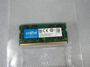 Crucial Micron 8GB DDR4 Laptop RAM Sodimm DDR4-2400 CT2K8G4SFD824A Memory Module