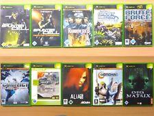 Xbox Tom Clancy's Splinter Cell Rainbow Brute Force Conflict AliaS Gotcha Matrix