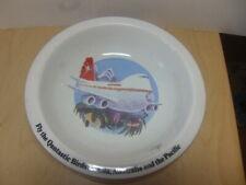 Qantas – Fly the Qantastic Birds c1970s-1980s large ceramic Bowl / Dish