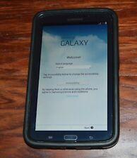 "Samsung Galaxy Tab 3 SM-T217S 7"" 16GB, Wi-Fi   4G (Sprint) Tablet - Black"