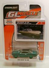 1968 '68 BUICK GS 400 GREEN MACHINE CHASE CAR DIECAST GL MUSCLE GREENLIGHT 2015