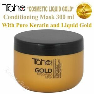 TAHE BOTANIC GOLD Conditioning Mask 300 ml with Pure Keratin and Liquid Gold