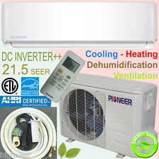 PIONEER 12000 BTU 22 SEER Inverter++ Ductless Mini Split Heat Pump 120V, 16' Kit
