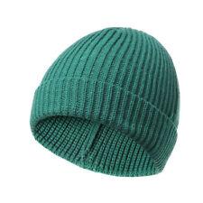 Men Women Unisex Hat Hip-Hop Wool Knitted Ski Cap Skull Warm Winter Cuff Beanie