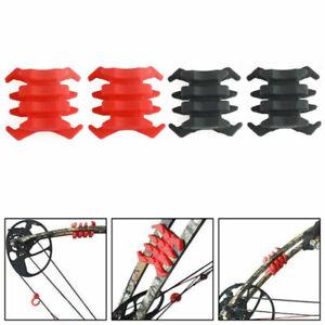 2x Limbsaver Stabilizer Super Quad Split Limb Compound Bow Vibration Dampener US
