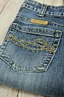 Cowgirl Tuff Jeans 'Don't Fence Me In Dark' 32 x 36