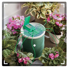 Automatic Plant Watering System w/Coil Basket Outdoor Gardening Tools Plants