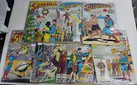 DC COMICS Vintage Superman Comic Book Lot 1960's 157 160 162 163 166 168 171
