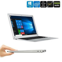 14'' GSP Laptop Notebook Computer Quad-Core Bluetooth4.0 Win10 WIRELESS OFFICE `