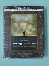 Saving Private Ryan 4k+Blu-ray+Digital Steelbook *Sealed*