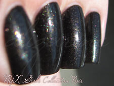 NEW! NYX GIRLS Nail Polish Lacquer COLLECTION NOIR