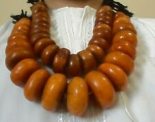 Amber Moroccan vintage African African Amber, 2 strand